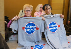 Jane and Judy at Second Chance Day on the HIll