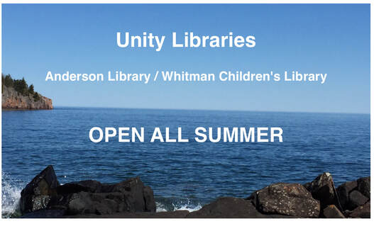 Unity Libraries are Open all summer!